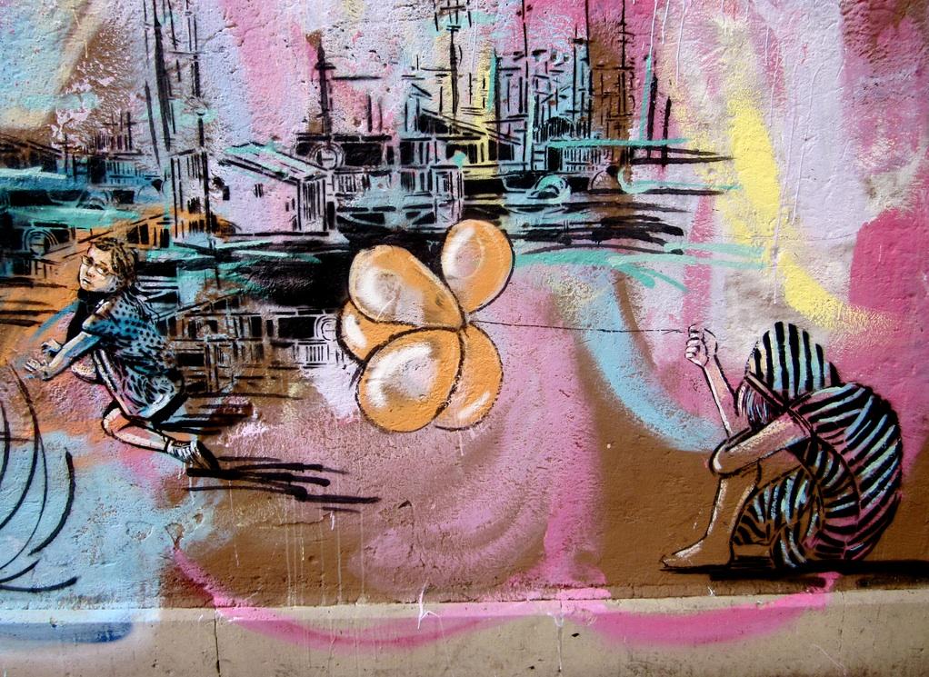 poetic street art by alice pasquini