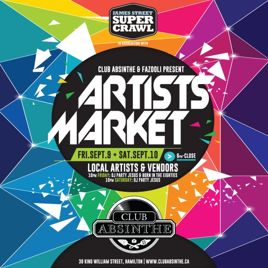 Supercrawl 2016 Art Market Square HI RES PRINT